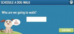 Volg je hond via GPS bij de uitlaatservice